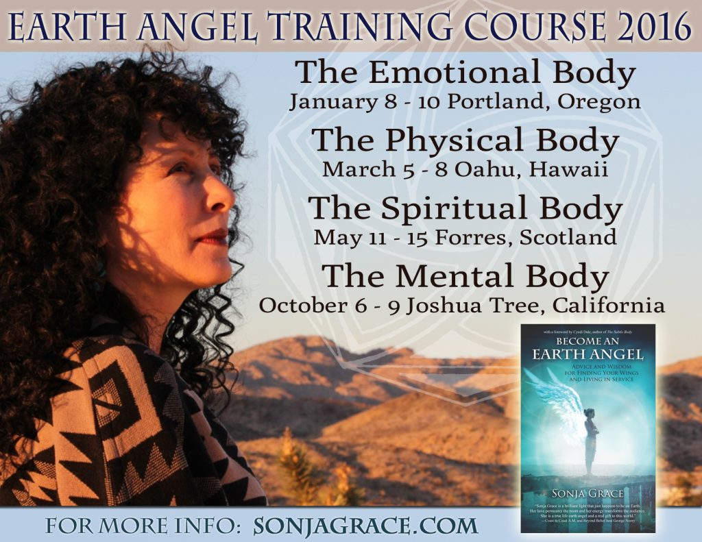 Earth Angel Training Course 2016
