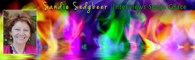 Sonja Grace Appears on the Cutting Edge with Sandie Sedgbeer