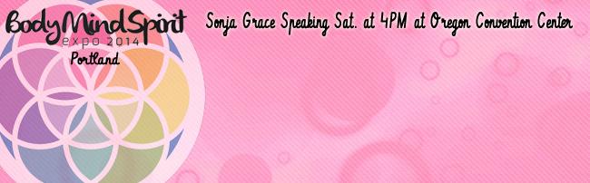 Sonja Grace Speaks at the Body Mind Spirit Expo, Portland, 11-1-14