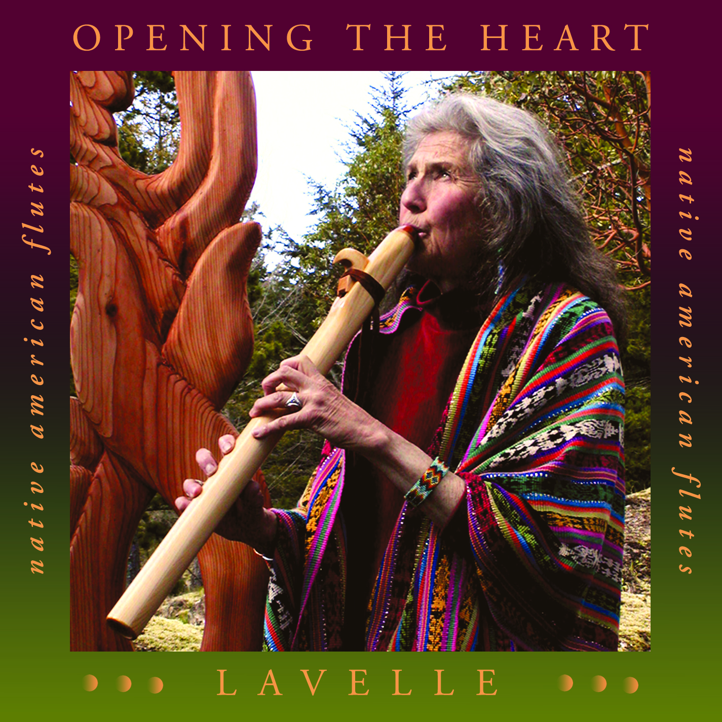 Native American Flute Music CD: Opening the Heart by Lavelle