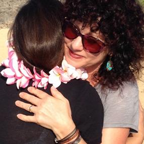 Sonja Hugging