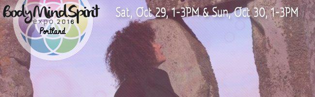 Sonja Grace at Body Mind Spirit Expo in Portland OR October 29-30