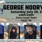 George Noory Live with Sonja Grace, Saturday July 29, 2017 Everett, WA