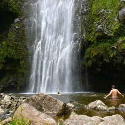 pu'u o hoku waterfall